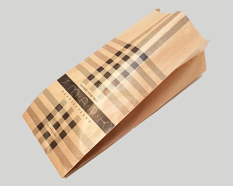 Papieren zakken Papierindustrie Adriaan Dekker