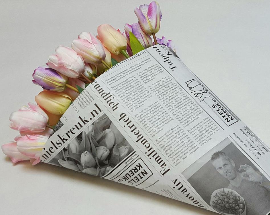 tulpen/gebogen vellen