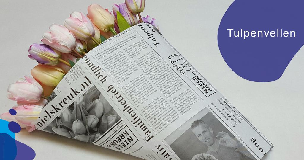 Verkoop Uw Tulpen Met Bijpassende Tulpenvellen!