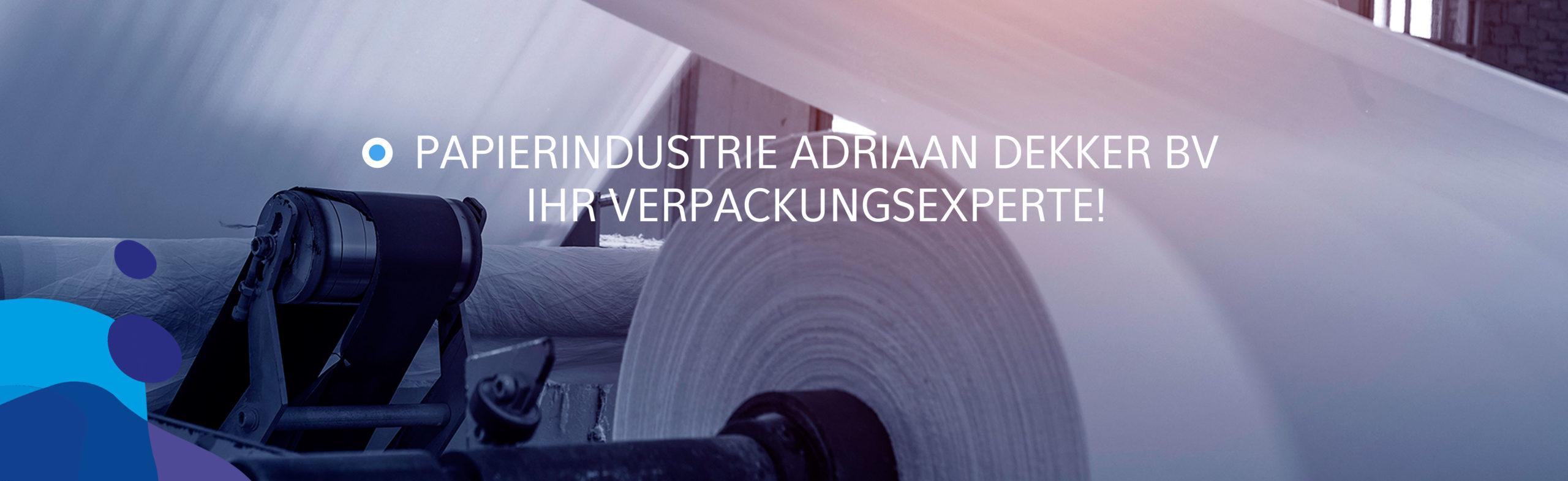 Papierindustrie Adriaan Dekker BV